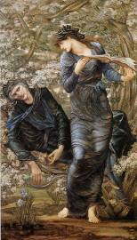 Burne-Jones, The Beguiling of Merlin1237007_10151588379667051_1719528808_n