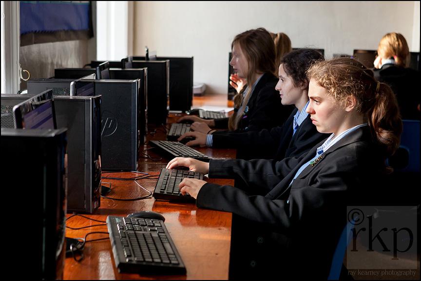 Cransley school ITC class