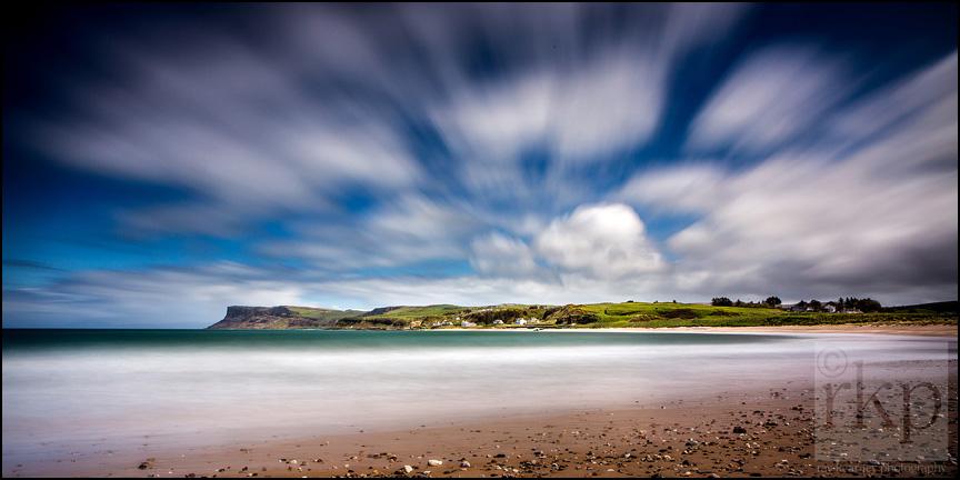 Ballycastle beach wide