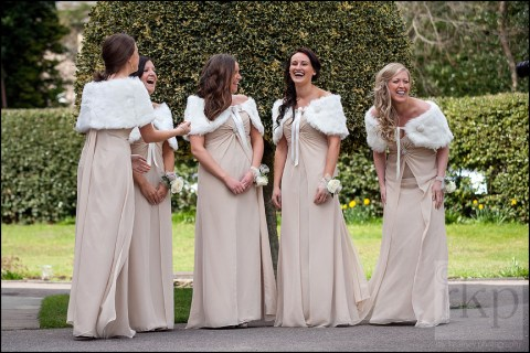 Bridesmaids at St Vincents, Altrincham