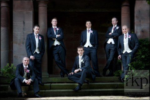 The Groomsmen at Thornton Manor