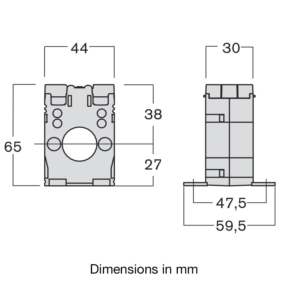 medium resolution of taibb single phase current transformer taibb dimensions
