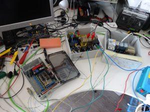 Arduino comleet testopstelling schakelkast