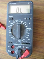 NMEA-0183 doormeten met een multimeter