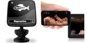 Raymarine Dragonfly WiFish beeldscherm smartphone