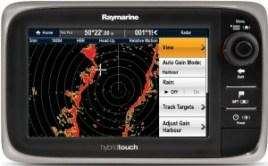 Raymarine e-7 verschil a-serie e-serie kaartplotter voorkant