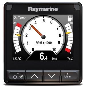 Raymarine i70s randen aanpassen naar S-line