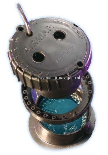 Raymarine inhull transducer met gel voor Axiom analoog ICT5