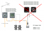 Raymarine installatie adaptor spurkabel SeaTalk SeaTalkNG A06047 A22164 bridge fout