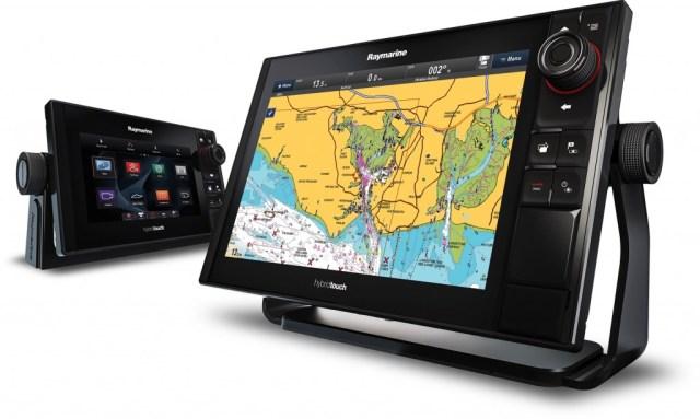 eS-serie fihfinder kaartplotter display Raymarine