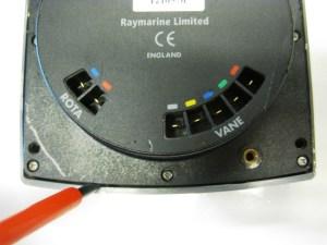 Raymarine ST60 wind instrument open maken achterkant