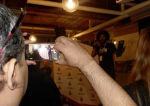 Raymi bartender at HackerNest