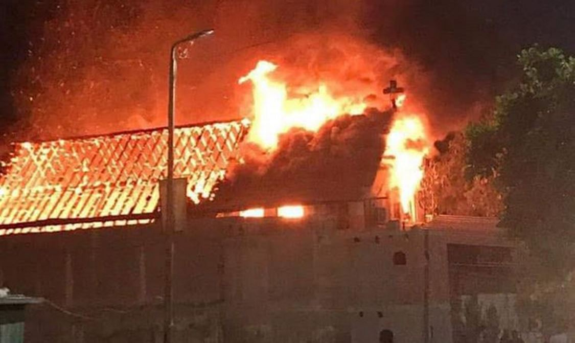 "Egypt: Three Christian Churches ""Accidentally"" Burn or Have ""Terrorists Changed Operations""? - Raymond Ibrahim"