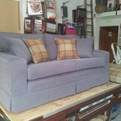 Mackenzie Sofa Leather Cushions Raymond Upholstery