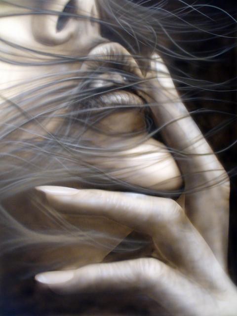 Rve en noir et blanc  Raymond Planchat peintre arographe cours de peinture vente