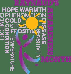 Raynaud's Awareness Month Graphic