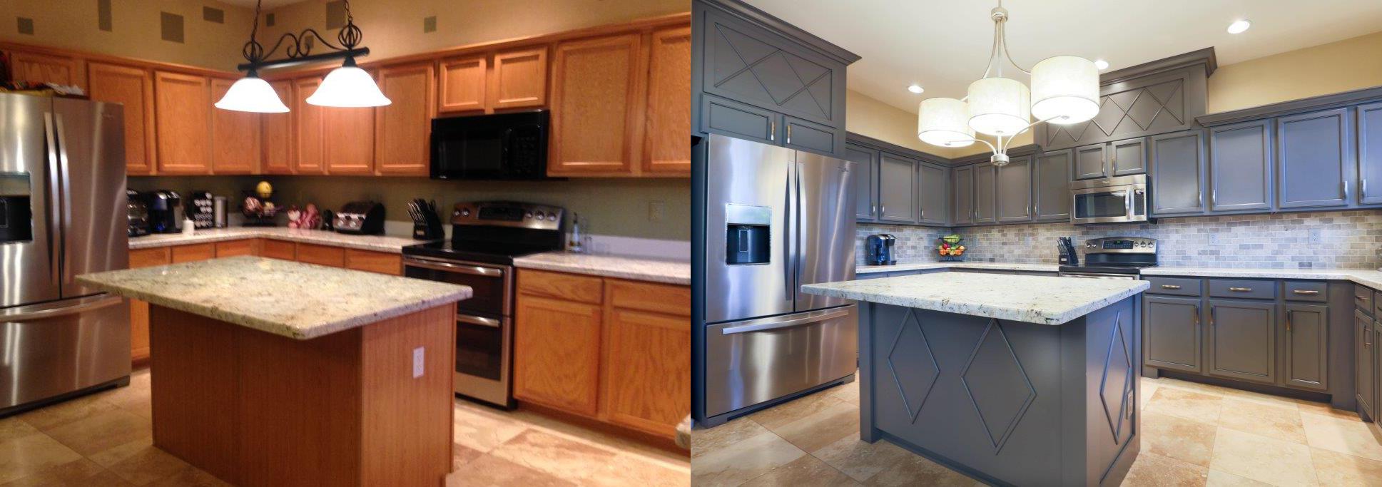 spraying kitchen cabinets hinges cabinet refinishing phoenix az & tempe arizona | kitchens ...