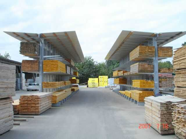 Rack Cantilever Rayonnage Occasion Nego Pro