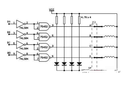 Stepper Motor and Its Drive Schematic Diagram