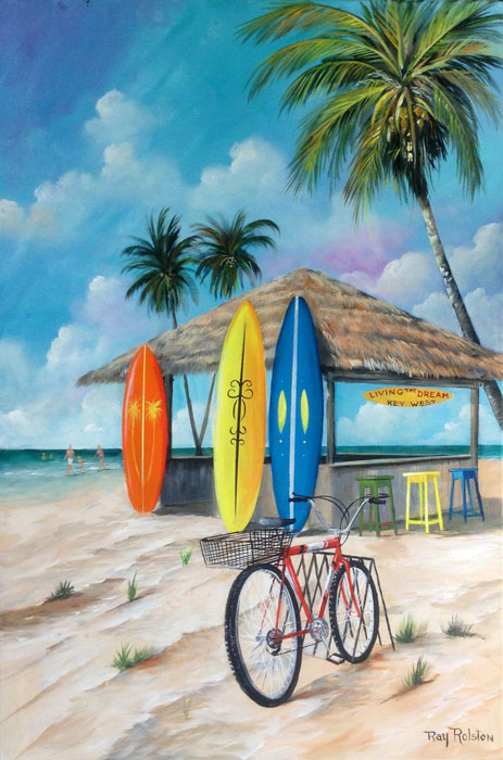 Island Prints by Ray Rolston
