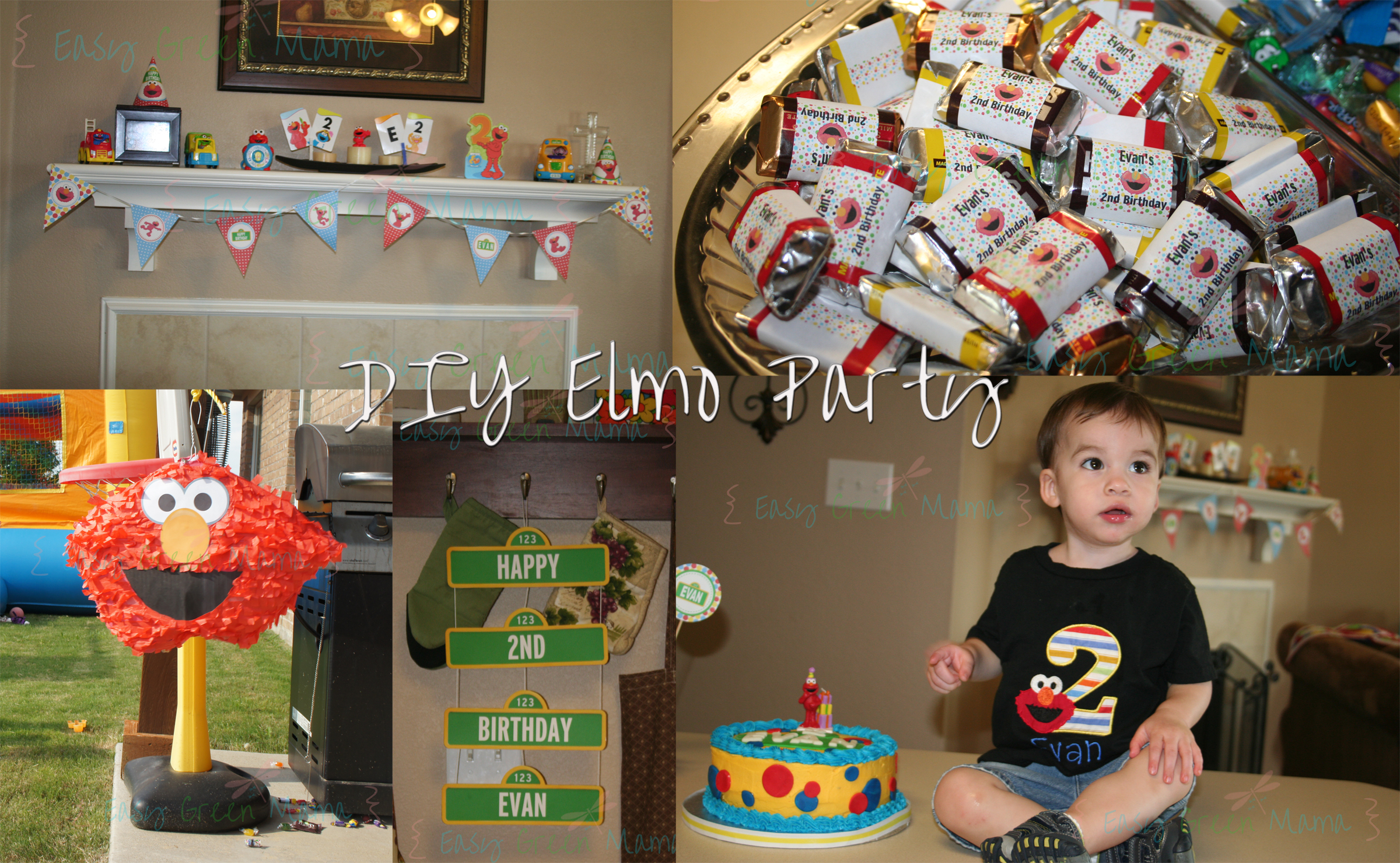 Diy elmo party ideas with free printables from rays of bliss solutioingenieria Image collections