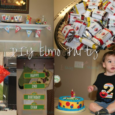 DIY Elmo Party with Free Printables