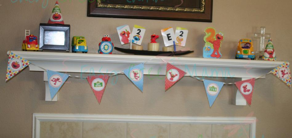DIY Elmo Party with Free Printables
