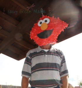 Elmo Pinata DIY mask