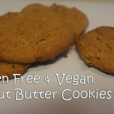 Peanut Butter Gluten Free & Vegan Cookies