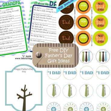free diy father's day gift ideas