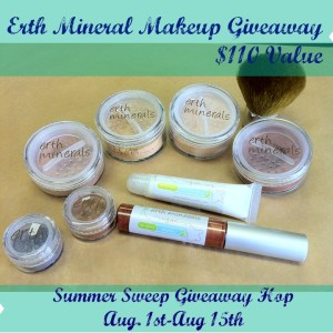 Erth Mineral Makeup Giveaway Worth $110 8/1-8/15