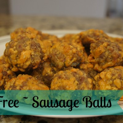 Gluten-Free Sausage Balls