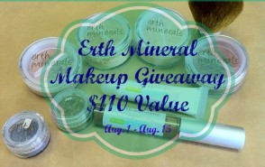 Summer Sweep Giveaway ~ $110 Worth Of Erth Mineral Makeup