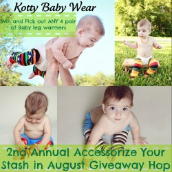 Baby Leg Warmer Giveaway
