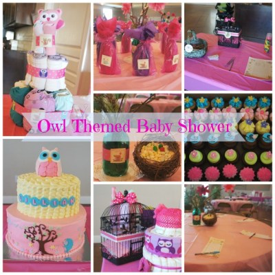Owl Themed Baby Shower Decorations and DIY Ideas * Printable Door Prize Tickets