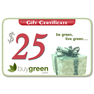 Green Your School Year Hop ~ $25 BuyGreen Gift Card Giveaway