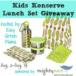 Kids Konserve Set Giveaway