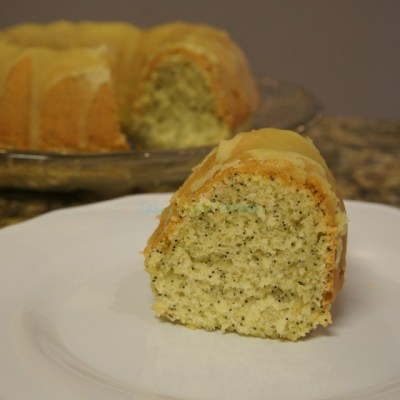 Easy Lemon Poppy Seed Cake ~ Gluten Free