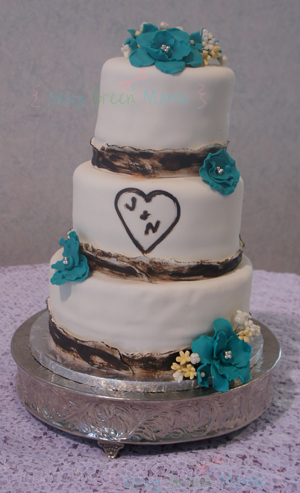 Country / Rustic Wedding Cake