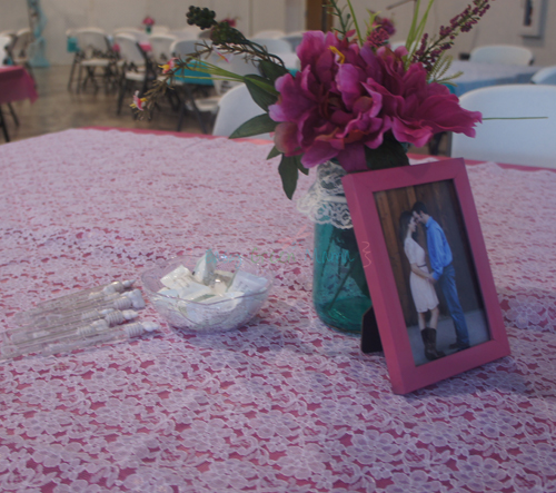DIY Country Wedding Table