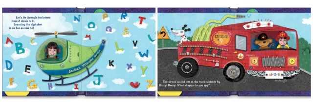 1-2-3 Blast Off With Me Personalized Book pages