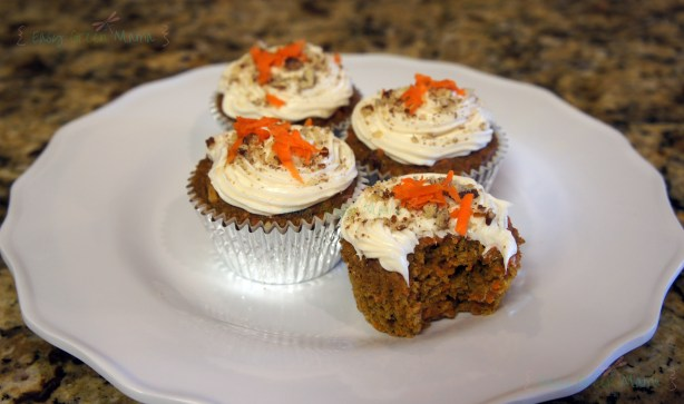 Carrot Cake Cupcakes ~ Gluten Free from rays of bliss.