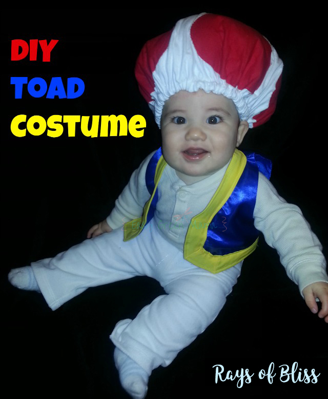 This year my 6 year old and 3 year old decided they wanted to be Mario Brothers. So obviously that means I get to dress my baby boy as Toad!  sc 1 st  Rays of Bliss & DIY Toad Costume / Hat ~ Baby or Kid - Rays of Bliss