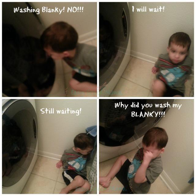 WASH MY BLANKY..