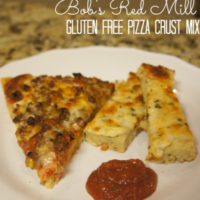 Gluten Free Pizza & Garlic Cheesy Bread