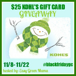 Kohl's Gift Card Givaway