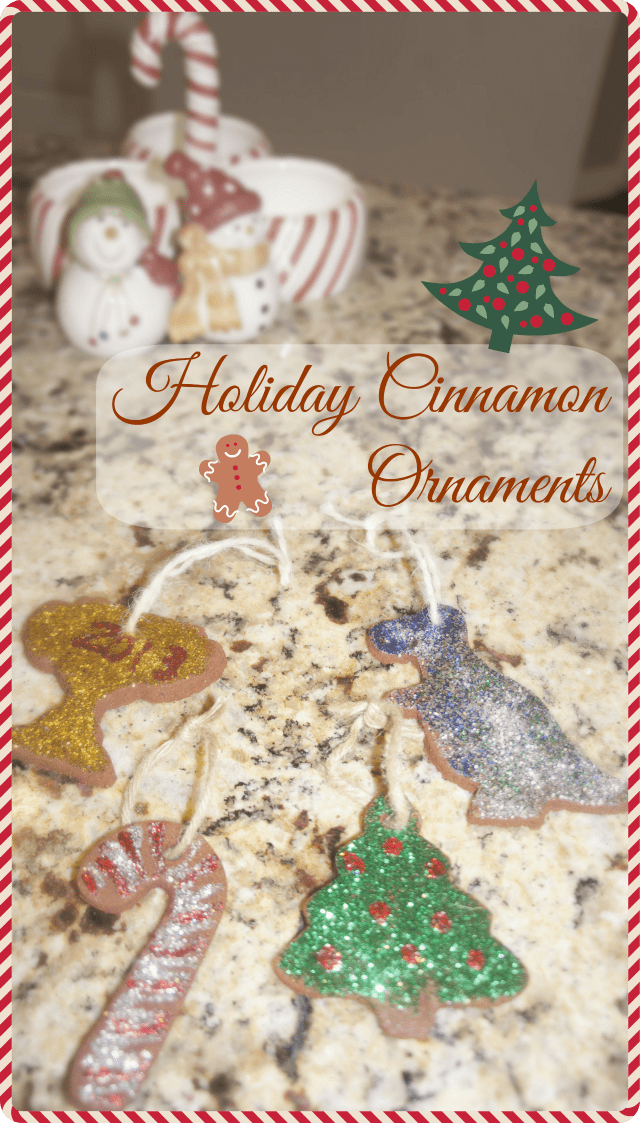 Holiday Cinnamon Ornament