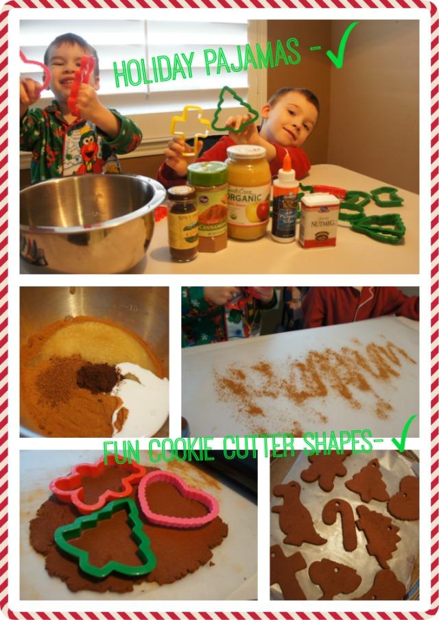 Holiday Cinnamon Ornaments