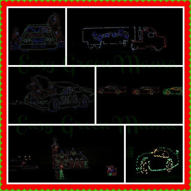 Texas Motor Speedway Lights Cars