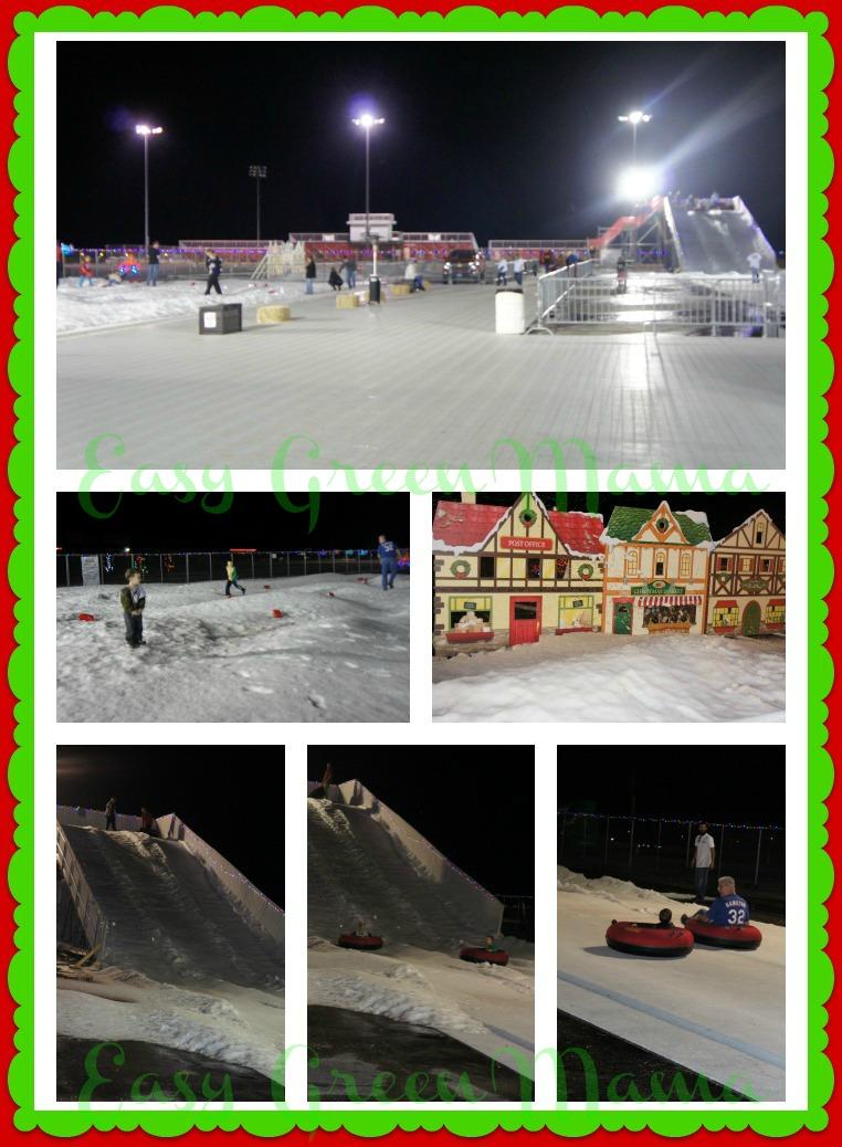 Texas Motor Speedway Lights Snow Village